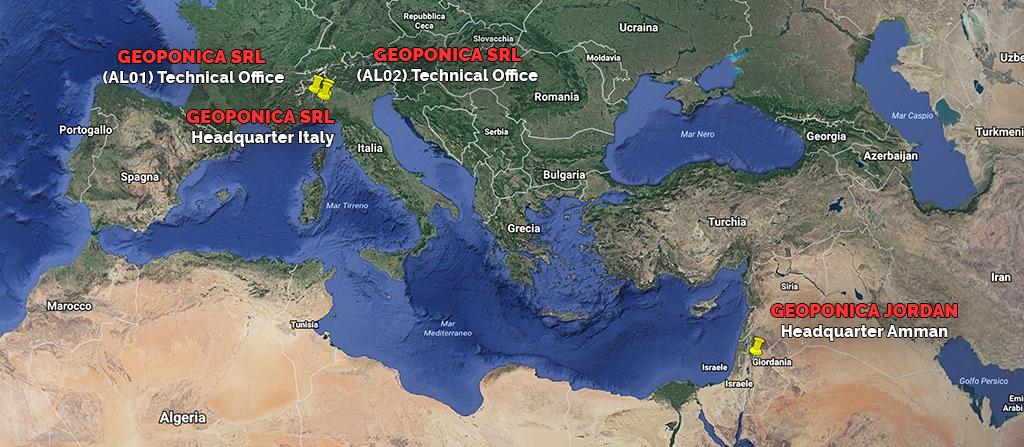 Geoponica Srl on Google Earth